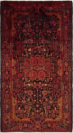 Navy Blue 3 x 10 Nahavand Persian Rug Boho Rugs, Persian Rug, 9 And 10, Navy Blue, Area Rugs, Persian Carpet, Rugs