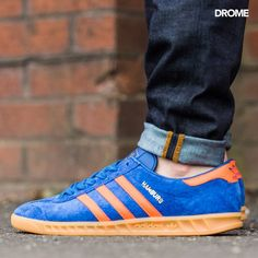 adidas Originals Hamburg: Royal/Orange/Gum