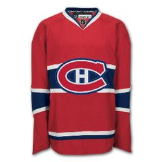 b6f884d5694 Montreal Canadiens Reebok Edge Authentic Home Nhl Hockey Jersey (made In  Canada)