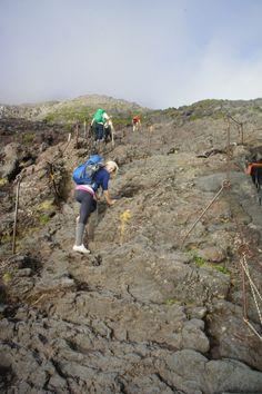 Climbing Mount Fuji, Japan. @YoungDumbAndFun