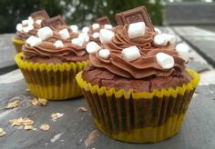 Chocolate S'more Brownie Cupcake – The Baking ChocolaTess