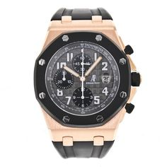 Audemars Piguet Royal Oak Offshore 25940.OK.OO.D002CA.01.A 18k Rose Gold Watch #AudemarsPiguet #LuxurySportStyles