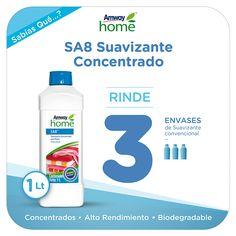 Novedades Amway - SA8 Suavizante Concentrado