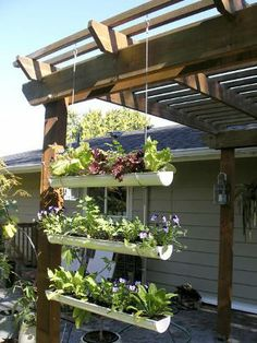 PVC PIPE PROJECTS ~ 11 GARDEN IDEAS