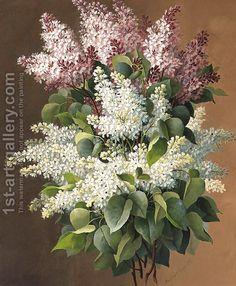 "Raoul Maucherat de Longpre - ""Lilacs"""