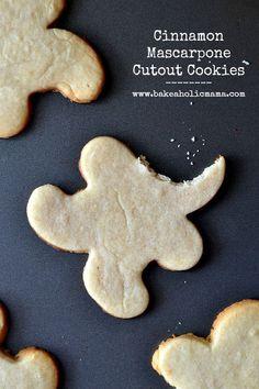 Bakeaholic Mama: Cinnamon Mascarpone Cutout Cookies