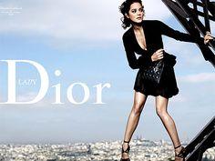<3 Marion Cotillard & Dior