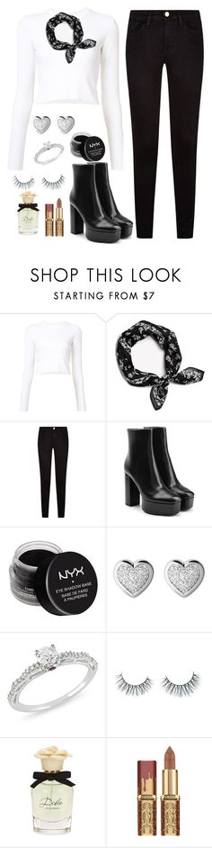 """New York"" by meli3108 ❤ liked on Polyvore featuring Proenza Schouler, Frame, Alexander Wang, NYX, Links of London, Ice, Unicorn Lashes and Dolce&Gabbana"