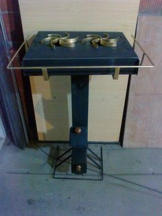 Rocket stove with dual burner Stove Heater, Rocket Stoves, Drafting Desk, Grilling, New Homes, Iron, Metal, Furniture, Wood Burning