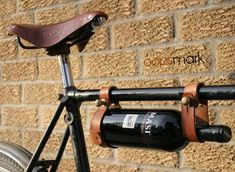 The Bicycle Wine Rack by Oopsmark Has a Steampunk Aesthetic #steampunk #victorian trendhunter.com  **this would def make cycling more fun to do!!**