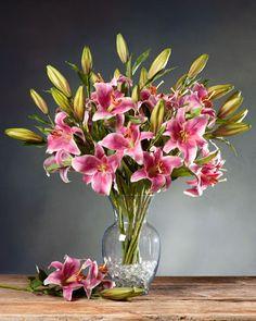 Alstromeria silk flower stem silk flowers flower and flowers pink artificial rubrum lily stems for sale single silk flower stem decor mightylinksfo