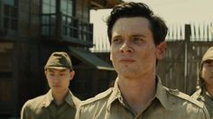 """Don't make a film about how great I am or how exceptional I am; make a film that reminds people that they have greatness inside themselves."" — Louis Zamperini Jack O'Connell plays Louis Zamperini in Angelina Jolie's Unbroken."