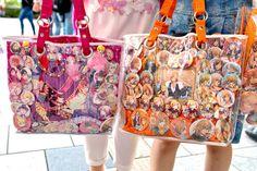Uta no Prince-sama fandom bags spotted on the...   Tokyo Fashion