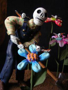 Day of the Dead gardener