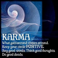 Have a positive outlook. Raw For Beauty, Buddhist Beliefs, Great Quotes, Inspirational Quotes, Positive Outlook, Good Thoughts, Quotable Quotes, Cool Words, Karma