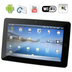 10.1 Inch Android OS 2.1 GPS 3G WiFi Widescreen Tablet Netbook Only $121