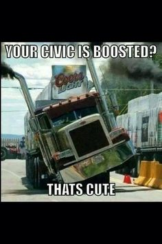 Your Civic is Boosted? - That's Cute