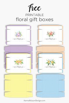 Homemade Gift Vouchers Templates Pretty Homemade Gift Boxes Templates & Tutorials  Homemade Gift .