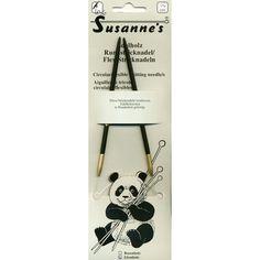 "Susanne's Ebony 24"" Circular Needles"