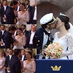 The ring, the kiss and now the husband and wife  June 13, 2015