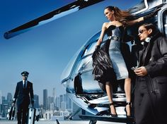 Helicopter  . Michael Kors Fall Winter 2013 Full Campaign | FashionMention