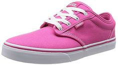 dcd560b7fe VANS Atwood Canvas Women s Sneakers Pink Magenta Shoes 0K... Baskets