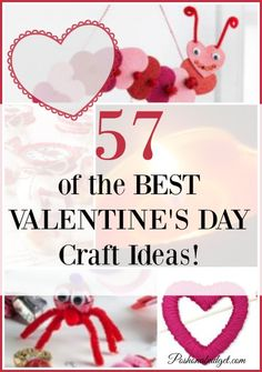 Some really great ideas for Valentine's Day