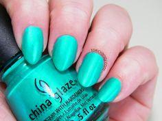 Turned Up Turquoise China Glaze | Toxic Vanity