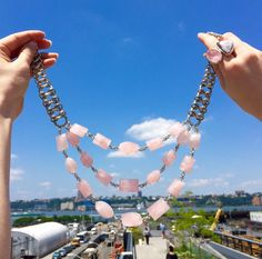 Elevate your look to cloud nine with Stephen Dweck jewelry. High Line Park.