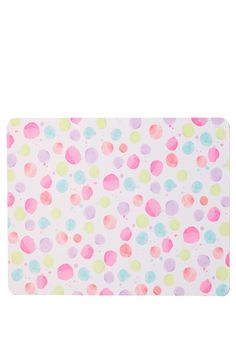 Amazing printed mat for your desk. This is made from neoprene, so this is like a giant mouse pad for your work space. Comes in designs to match back with your Typo desk accessories. Dimensions: 59.4cm x 40cm