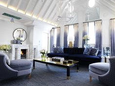 Nulty - Connaught Hotel, London - Luxury Penthouse Interior Illumination Living Space Lighting Design