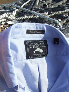 Nantucket Whaler Clothing. Designed on Nantucket.