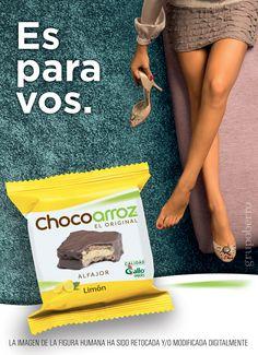 Chocoarroz. Vía Pública. Molinos. Argentina.