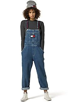 TOMMY JEANS DENIM OVERALLS $169.50