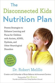The Disconnected Kids Nutrition Plan helps parents cope with eating struggles caused by brain imbalance or Functional Disconnection Syndrome (FDS).