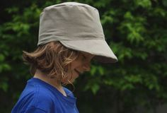 Boy's Sunhat Pattern and Tutorial from Rachel @ http://lusaorganics.typepad.com