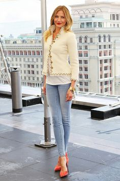 Cameron Diaz..love her outfit too!