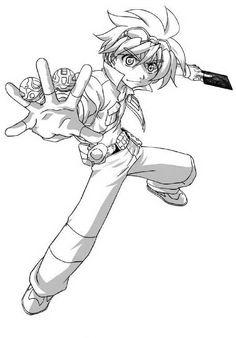 Desenhos para pintar Bakugan 2