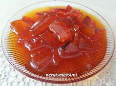 T A T L IMMM. Melon peel jam recipe How to make melon peel jam Melon peel jam Melon peel jam Immediately after melon peel . We Offer The Possi. Jam Recipes, Cooking Recipes, Turkish Recipes, Ethnic Recipes, Bakery Cakes, Healthy Eating Tips, Vegetable Drinks, Delicious Desserts, Food And Drink