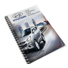Spiral Bound Diary A4 Product Size: 210w x 297h Branding: Digital Print Material: 300gsm gloss