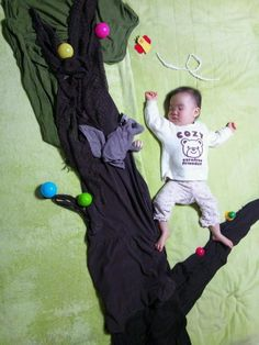 stuff to do to your baby when they are sleeping