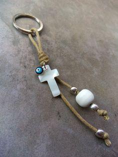Bracelet Crafts, Jewelry Crafts, Handmade Jewelry, Beaded Bracelets, Paracord Bracelets, First Communion Decorations, First Communion Favors, Communion Invitations, Angel Earrings