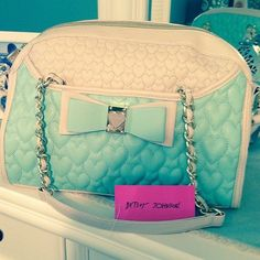 Mint Green Purse By Betsy Johnson