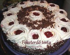 Feketeerdő torta - Aliz konyhája - minden recepthez fázisfotók Minden, Cake, Food, Kuchen, Essen, Meals, Torte, Cookies, Yemek