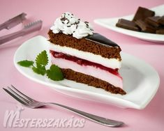 Hungarian Desserts, Tiramisu, Food And Drink, Sweets, Mousse, Cooking, Ethnic Recipes, Cakes, Kitchen