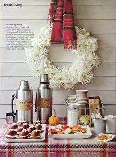 Autumny tea party ideas...