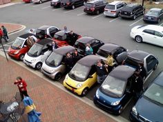 Post a photo of your favorite parking job - Page 9 - Smart Car Forums