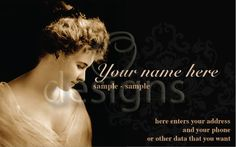 Digital Business Calling Card Elegance Template No 1