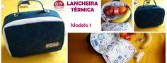 Lancheira Térmica -Moldes e materiais necessários – DIY Tutorial