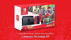 Learn about Super Mario Odyssey Nintendo Switch Bundle Revealed http://ift.tt/2xyWbej on www.Service.fit - Specialised Service Consultants.